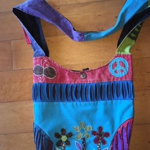 Casual Bohemian Hobo Shoulder Crossbody Bag